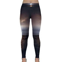 Lightning Classic Yoga Leggings by StarvingArtisan