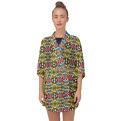 Artwork By Patrick Colorful 36 Half Sleeve Chiffon Kimono by ArtworkByPatrick