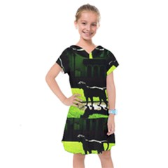 Guard 3 Kids  Drop Waist Dress by bestdesignintheworld