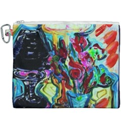 Still Life With Two Lamps Canvas Cosmetic Bag (xxxl)