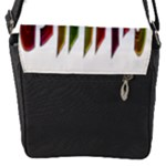 Summer Colorful Rainbow Typography Flap Messenger Bag (S)