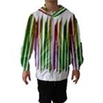 Summer Colorful Rainbow Typography Hooded Wind Breaker (Kids)