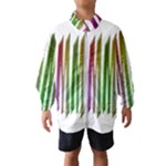 Summer Colorful Rainbow Typography Wind Breaker (Kids)