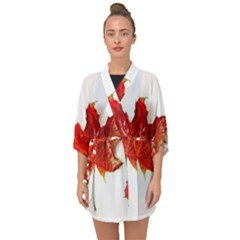 Innovative Half Sleeve Chiffon Kimono by GlobidaDesigns
