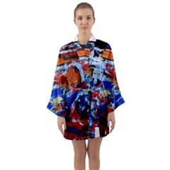 Mixed Feelings Long Sleeve Kimono Robe by bestdesignintheworld
