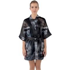 Gorilla Quarter Sleeve Kimono Robe by goodart