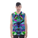 Arcturian Astral Travel Grid - Men s Basketball Tank Top