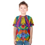 Arcturian Insight Grid - Kids  Cotton Tee