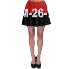 The 26th Of July Movement Flag Skater Skirt by abbeyz71