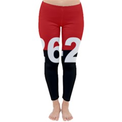 The 26th Of July Movement Flag Classic Winter Leggings by abbeyz71