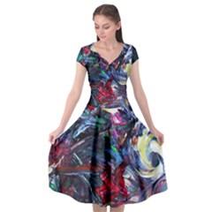 Eden Garden 9 Cap Sleeve Wrap Front Dress by bestdesignintheworld