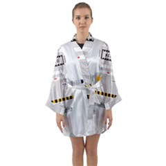 Robot Technology Robotic Animation Long Sleeve Kimono Robe by Simbadda