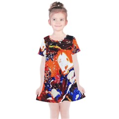 Smashed Butterfly 8 Kids  Simple Cotton Dress by bestdesignintheworld