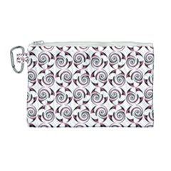 Spirai3+ Canvas Cosmetic Bag (large) by Jylart