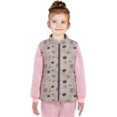 Beach Combers Kid s  Puffer Vest by JustKids
