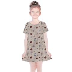 Beach Combers Kids  Simple Cotton Dress by JustKids