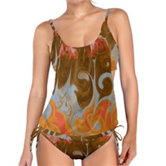 Fire And Water Tankini Set by digitaldivadesigns