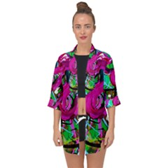Flamingo   Child Of Dawn 2 Open Front Chiffon Kimono