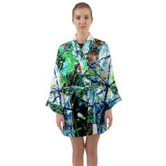 Depression 1 Long Sleeve Kimono Robe