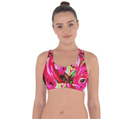 Flamingo   Child Of Dawn 5 Cross String Back Sports Bra