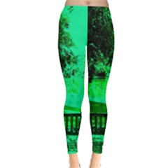 Hot Day In Dallas 24 Leggings  by bestdesignintheworld
