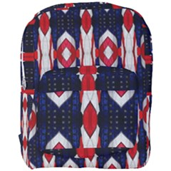 Patriotic P Full Print Backpack by aard