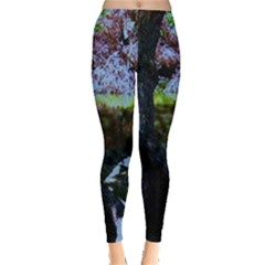 Hot Day In Dallas 32 Leggings  by bestdesignintheworld