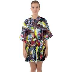 Eden Garden 12 Quarter Sleeve Kimono Robe