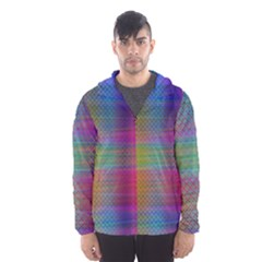 Colorful Sheet Hooded Windbreaker (men) by LoolyElzayat