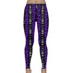 Purple Tribal Leopard Classic Yoga Leggings