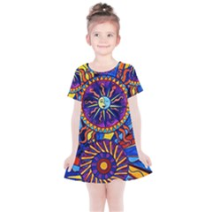 Sun & Moon   Kids  Simple Cotton Dress by tealswan