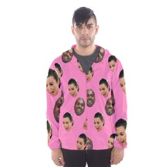 Crying Kim Kardashian Hooded Windbreaker (men) by Valentinaart