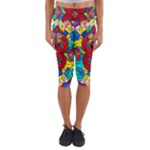 Festivity - Capri Yoga Leggings