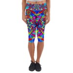 Gratitude - Capri Yoga Leggings