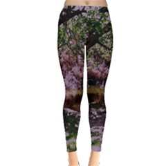 Hot Day In Dallas 31 Leggings  by bestdesignintheworld