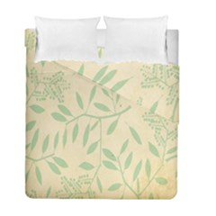 Leaves Vintage Pattern Duvet Cover Double Side (full/ Double Size)