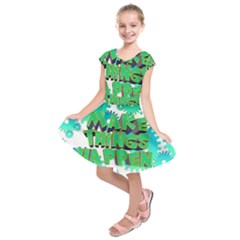 Gears Gear Interaction Act Do Kids  Short Sleeve Dress