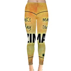Beautiful Day Cheerful Munter Leggings