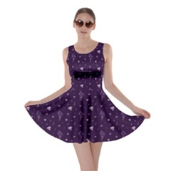 Diamonds And Bluebells Skater Dress by greenthanet