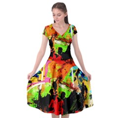 Enterprenuerial 1 Cap Sleeve Wrap Front Dress by bestdesignintheworld