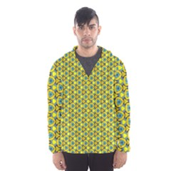 Mechanical Pattern Hooded Windbreaker (men) by jumpercat