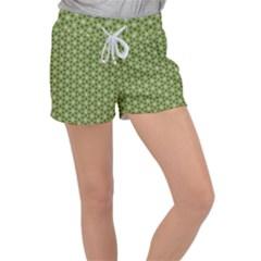 Greenville Pattern Women s Velour Lounge Shorts by jumpercat