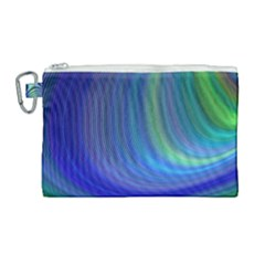 Space Design Abstract Sky Storm Canvas Cosmetic Bag (large)