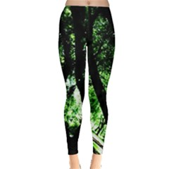 Hot Day In Dallas 28 Leggings  by bestdesignintheworld