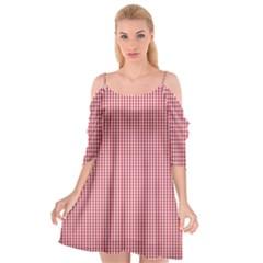 72244985 Cutout Spaghetti Strap Chiffon Dress by PodArtist