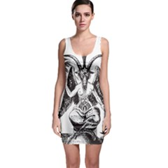 Devil Baphomet Occultism Bodycon Dress