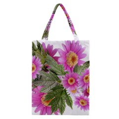 Daisies Flowers Arrangement Summer Classic Tote Bag by Sapixe