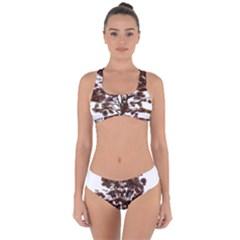 Tree Vector Ornament Color Criss Cross Bikini Set by Sapixe