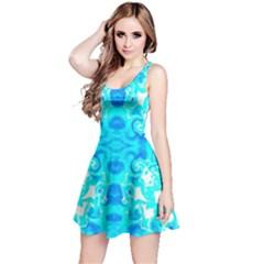 Celestial Water Reversible Sleeveless Dress by G33kChiq