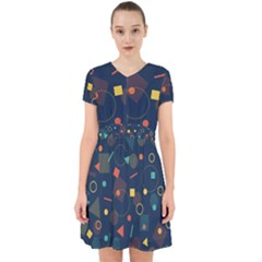 Background Backdrop Geometric Adorable In Chiffon Dress by Sapixe